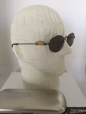 Vintage Jean Paul Gaultier JPG 56-5101 Sunglasses Antique Bronze & Gold With G15