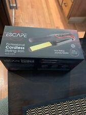 "CHI Escape Professional Cordless Rechargeable Ceramic 1"" Barrel Curling Iron"