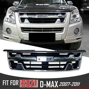 ISUZU DMAX RODEO D-MAX BLADE 2007-2011 PICKUP NET FRONT CHROME ABS GRILL GRILLE