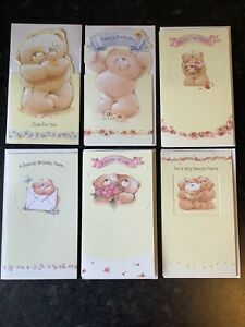 """Forever Friends Birthday Set Of 6 Cards (4""""x7"""")"""