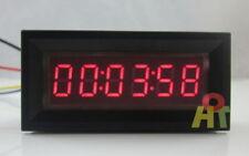 DC 12V Red LED Digital Timer Totalizer Hour Chronometer Industrial Meter Gauge