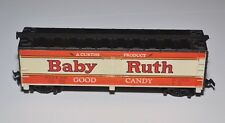 HO TYCO BABY RUTH CANDY BARS ORANGE BOXCAR TRAIN CAR CURTISS PRODUCT