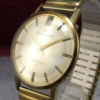 Vintage SEIKO SEIKOMATIC EGP Gold Plated 30 Jewels Automatic Men's Watch #401