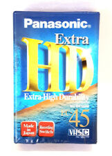 PANASONIC NV-EC45HF HD Extra Compact VHSC Video Recording Tape 45 Min Brand New