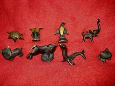 Rare 8pc Mini Austria Bronze Figures Richard Rohac Hagenauer Walter Bosse Baller