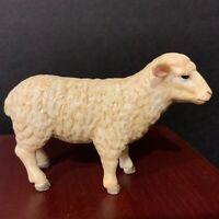Mojo Plastic White Sheep Nativity Animal