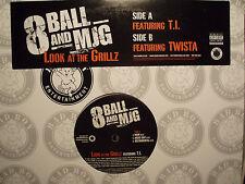 "8-BALL & MJG - LOOK AT THE GRILLZ (12"")  2004!!!  RARE!!!  T.I. + TWISTA!!!"