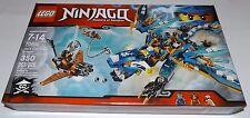 LEGO Ninjago JAY's ELEMENTAL DRAGON 70602 lightning blue ninja dragon monkey