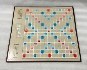 "SCRABBLE GAME REPLACEMENT GAME BOARD - C. 2001 / 15"" X 14"""