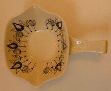 Stavangerflint norway art pottery flamingo gamme manipulés serving bowl