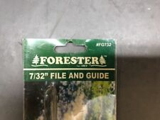 "Forester CHAINSAW SHARPENING 7/32""  FILE  And GUIDE"