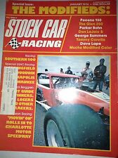 Stock Car Racing Magazine Southern 500 The Glen 250 January 1976 040517NONRH