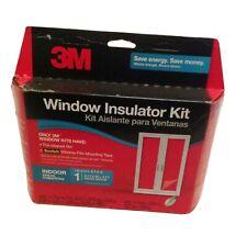 3M Indoor Window Insulator Kit Winter Film Door Indoor New