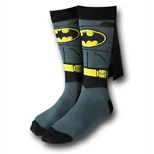 BATMAN SOCKS WITH CAPE