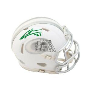 Charles Woodson Autographed Green Bay Packers Ice Mini Football Helmet Fanatics
