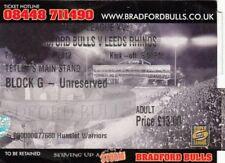 Ticket - Bradford Bulls v Leeds Rhinos 06.04.2012