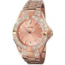 SEKSY LADIES ROSE GOLD 'INTENSE' WATCH MODEL 4669 RRP £89.99
