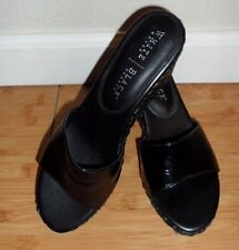 Pre-owned black womens low heels White house Black Market 6.5 M