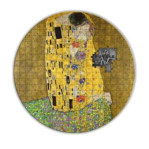 "3000 Francs silver coin - ""The Kiss"" - Gustav Klimt - ""SoPuzzle Art"" Series - Ca"