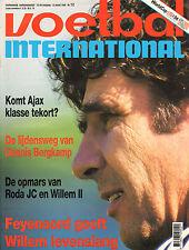 V.I. 1994 nr. 12 - VAN HANEGEM/LUIS OLIVEIRA/PARMA-AJAX/DENIIS BERGKAMP & INTER