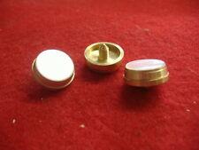 New Conn Trumpet/Cornet Brass Finger Buttons! Set of 3! Fast Shipping!