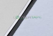 Basso profilo 50mm gancio e occhiello adesivo bianco