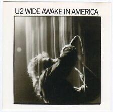 CD 4T U2 WIDE AWAKE IN AMERICA ISLAND CD 1985