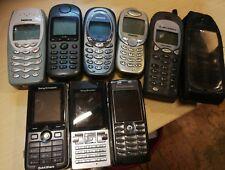 Alte Handys, Konvolut, Siemens, Nokia, Motorola und Sony Ericsson, 8 Stk