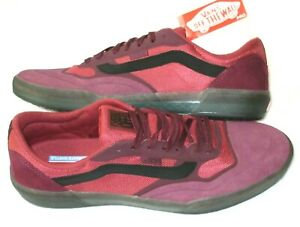 Vans Men's Ave Anthony Van Engelen Pro Skate shoes Port Royal Rosewood size 8