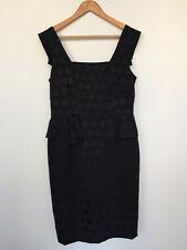 Marks & Spencer, LBD, little black dress, UK size 14, square neck dress.