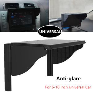 Universal Refit Antiglare Car GPS/DVD/LCD Visor Sun Shade Navigation Light Cover