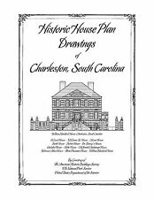 Historic House Plan Drawings of Charleston, South Carolina - Architectural Plans
