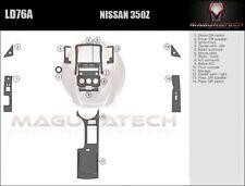 Fits Nissan 350Z 2006-2008 With Manual Trans Large Premium Wood Dash Trim Kit