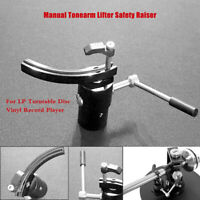 1PC Audio Manual Tonarm Lifter Raiser Phono-Tonabnehmer für LP-Plattenspieler