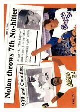 Pick 6 Upper Deck Heroes Joe Namath, Montana N Ryan/R Henderson SP2 1991