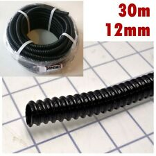 BLACK CORRUGATED FLEXIBLE POND HOSE FISH GARDEN FILTER PUMP MARINE FLEXI PIPE