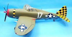 21st Century Ultimate Soldier 1:18 Scale P-47D Thunderbolt Razor-Back
