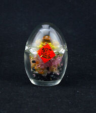 Feng Shui Five Element Crystal Chips Egg with Ingots W2108