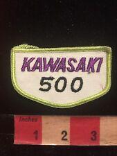 Vintage Kawasaki 500 Motorcycle Biker Patch 84Gg