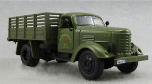 1:32 Scale Army Green Military Truck Diecast Model Truck W/ Sound&Light Toy Car