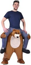 Adults Piggyback Step In Bear Animal Carnival Stag Do Fancy Dress Costume Outfit