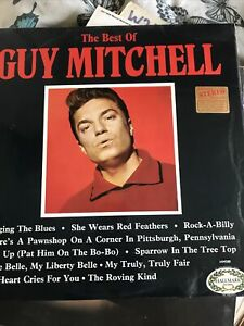 The Best of Guy Mitchell Rare Stereo HM580 LP