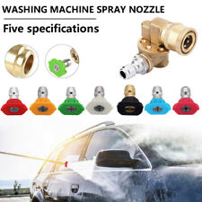 High Pressure Washer Accessories Kit, 7 Power Washer Spray Nozzle Tips,1/4