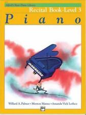 Alfred's Basic Piano Library: Alfred's Basic Piano Recital Book, Level 3 Bk 3 by