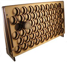 Sphere Products - Vertical Paint Rack for Tamiya, Gunze, Lifecolor type paints.