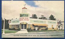 Kriestines Coffe Shop Restaurant Us 1 Lake Worth Florida fl roadside Postcard