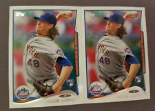 NICE 2 LOT! 2014 TOPPS UPDATE JACOB DEGROM RC ROOKIE ☆ NEW YORK METS ACE ☆ US-50