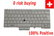 For HP Elitebook 2740P Laptop Keyboard Swiss German CH Schweiz Tastatur