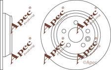 REAR BRAKE DISCS (PAIR) FOR FORD MONDEO TURNIER GENUINE APEC DSK2491