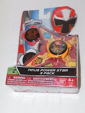 NEW Power Rangers Ninja Steel Ninja Power Star Element Star Fire Mode Pack 43761